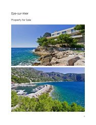 Eze-sur-Mer Waterfront Property For Sale
