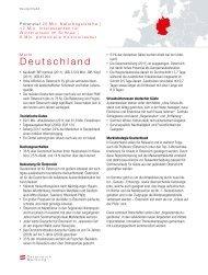 Marktinfo Deutschland