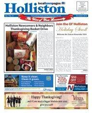 Holliston November 2019