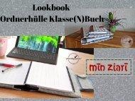 Lookbook Ordnerhülle Klasse(N)Buch