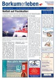 30.10.2019 / Borkumerleben - Die Wochenzeitung