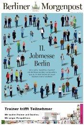 Das Messe-Magazin zur 11. jobmesse berlin