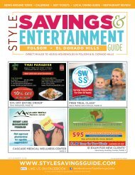 Style Savings and Entertainment Guide November 2019