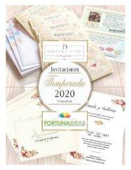 Catálogo Invitaciones Nicole Becker