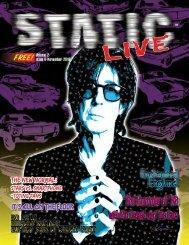 Static Live Magazine November  2019