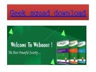 webroot geek squad