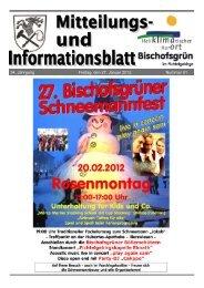 Bad Brambacher - Gemeinde Bischofsgrün
