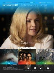 Guide des Programmes TV5MONDE Asie (novembre 2019)