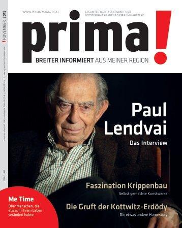 prima! Magazin – Ausgabe November 2019