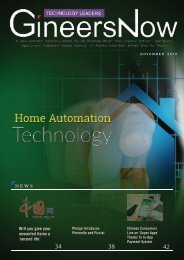 Smart Home Automation Trends, Technology Leaders magazine, Nov2019