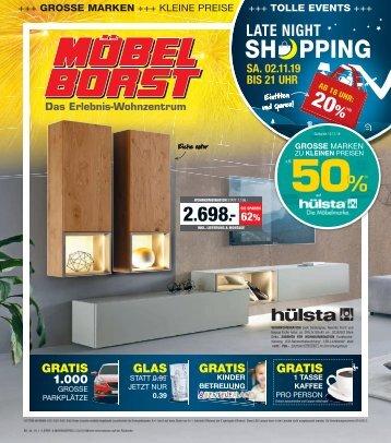 2019/44 - Möbel Borst 30.10. - 12.11.2019