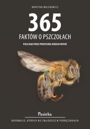 365 faktów o pszczołach