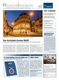 Hallesche Immobilienzeitung Ausgabe 88, November 2019
