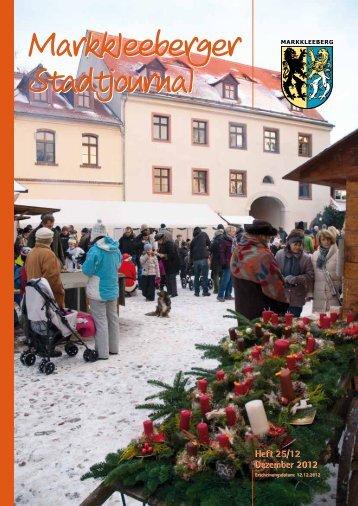 Heft 25/12 Dezember 2012 Heft 25/12 Dezember ... - Druckhaus Borna
