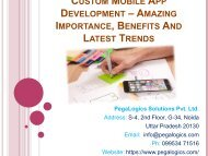 Custom Mobile App Development – Amazing Importance, Benefits And Latest Trends-converted