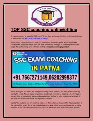SSC Coaching In Patna