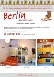 Berlin Central Appartment Raumplan
