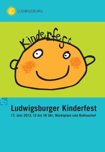 Ludwigsburger Kinderfest - Stadt Ludwigsburg
