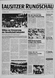 Ausgabe der Lausitzer Rundschau vom 31-10-1989
