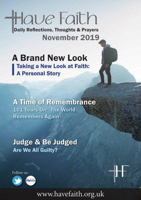 Have Faith November Issue