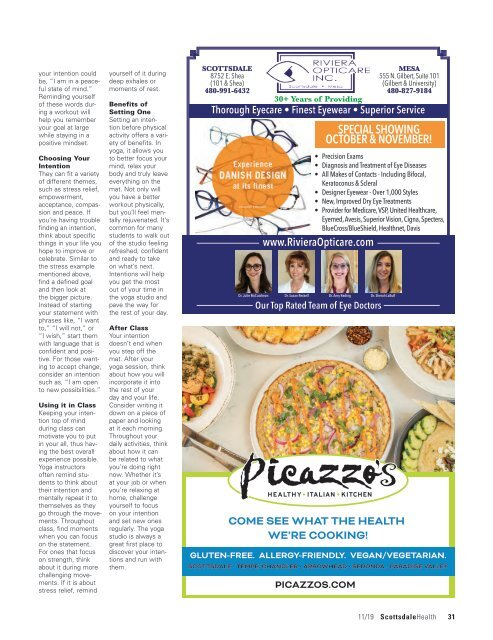 Scottsdale Health November 2019