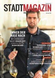 Stadt-Magazin, Ausgabe Unterwiehre (November 2019)