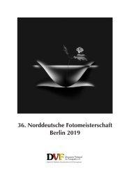 Katalog der 36. Norddeutschen Fotomeisterschaft 2019 des DVF