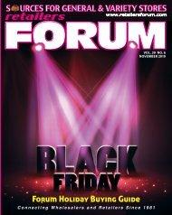 Retailers Forum Magazine - Nov. 2019 E Mag