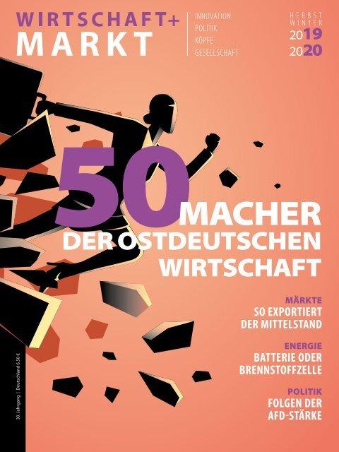 50 Macher aus WIRTSCHAFT+MARKT Herbst/Winter 2019/2020