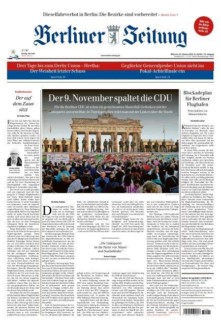 Berliner Zeitung 30.10.2019