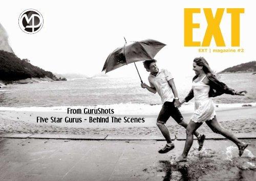 EXT Photo Magazine #2 Five Star Gurus - Behind The Scenes
