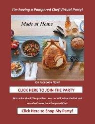 Pampered Chef Digital Catalog and Ordering Link - November