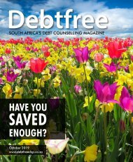 Debtfree Magazine Oct 2019