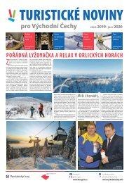 Turistické noviny pro Východní Čechy - zima 2019 - titulka