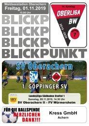 Blickpunkt 07 vs 1.Göppinger-SV