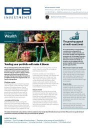 DTB Investments - Autumn Wealth newsletter