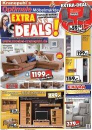 Extra-Deals! Fast alles sofort zum Mitnehmen - Kranepuhls optimale Möbelmärkte