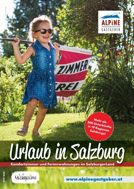 Alpine Gastgeber Salzburg - Katalog 2019-20
