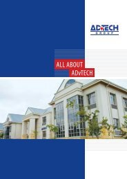 All About ADvTECH Brochure