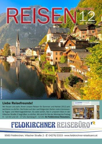 Feldkirchner Reisebüro Prospekt SH12 Online-Version