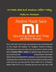 Amazon Offers Today and Redmi Flash Sale  - Page 2