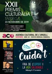 Agenda novembre 19