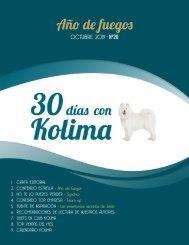 30 días con Kolima - Octubre 2019