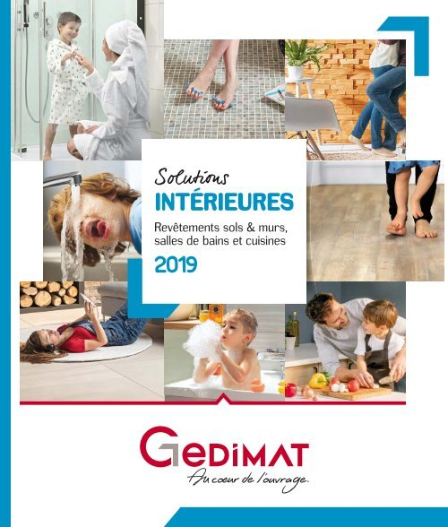 Gedimat Catalogue Intérieures 2019