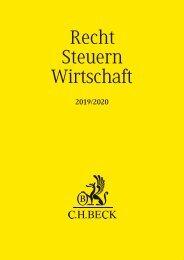 C.H.BECK 2019/2020
