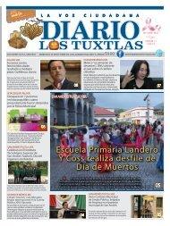 Edición de Diario los Tuxtlas del día 31 de octubre de 2019