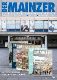 DER MAINZER - Das Magazin für Mainz und Rheinhessen - Nr. 350