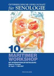 Maritimer Workshop2007.pdf (2,7MB) - Österreichische Gesellschaft ...