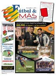 Futbol & Más - 1 Noviembre 2019